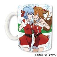Eva Store Original Rei & Asuka Mug 2017 Christmas Ver.