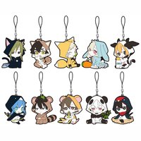 Kagerou Project Animal Rubber Strap Collection