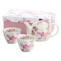 Hana Hitohira Mino Ware Tea Set
