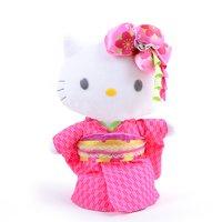 """Hello Kitty Kimono 12 Plush"""""""