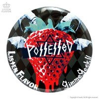 LISTEN FLAVOR x Gimme Geek! Collaboration Vol. 2 Demonic Strawberry Tin Badge