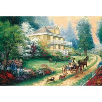 Holiday of Apple Hill Jigsaw Puzzle