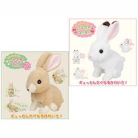 Flapping Ears Rabbit Plush