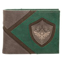 Legend of Zelda Hylian Shield Metal Emblem Bi-Fold Wallet