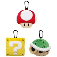 Super Mario Plush Pouch Series
