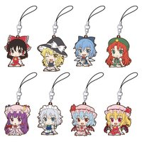 Touhou Project Magemage Rubber Strap Box Set