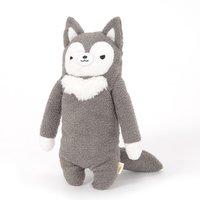 Fumofumo-san Dark Gray Rufu Plush (Medium)