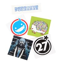 DECO*27 Ghost Sticker Set