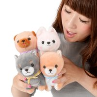 Mameshiba San Kyodai Funwari Yume no Kuni Dog Plush Collection (Standard)