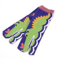 Nagomi Modern Women's Alligator Tabi Socks