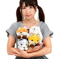 Kogitsune Konkon Curled Tail Fox Plush Collection (Standard)