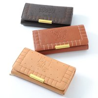 FLAPPER Biscuit Long Wallet