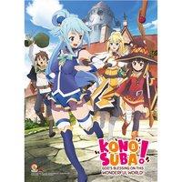 KonoSuba Key Art Premium Wall Scroll
