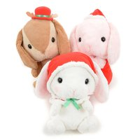 Pote Usa Loppy Merry Christmas Rabbit Plush Collection (Big)