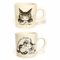 Wachifield Dayan the Cat Sand Mug