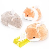 Coroham Coron Hamster  Plush Tissue Box Covers