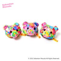 Sebastian.M Time After Time Capsule Bear Mascot Clip & Brooch