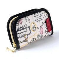 Sentimental Circus Zip-Open Coin Pouch