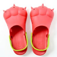Akiba Sandals - Red x Yellow-Green