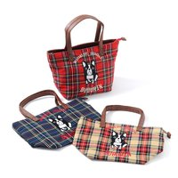 FLAPPER Chicago Buburin Checkered Tote Bag
