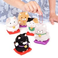 Hige Manjyu Maneki-neko Cat Plush Collection (Ball Chain)