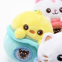 Latte Kitten Coffee Plush Mascots