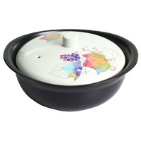 Hana Tsumi Mino Ware Heat-Resistant Pot