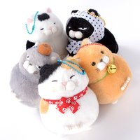 Hige Manjyu Yu Cat Plush Collection (Ball Chain)