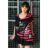 ACDC RAG Punks Striped T-Shirt