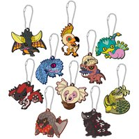 Monster Hunter: World Chibi Monster Rubber Strap Collection Box Set
