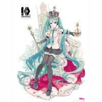 Hatsune Miku 10th Anniversary B2 Tapestry