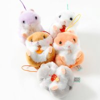 Coroham Coron no Daishukaku Hamster Plush Collection (Mini Strap)