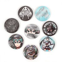 Hatsune Miku Metal Edition Tin Badge Set