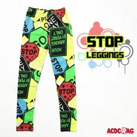 ACDC RAG Stop Yellow Leggings