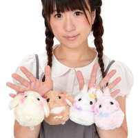 Usa Dama-chan Fancy Ribbon Rabbit Plush Collection (Ball Chain)
