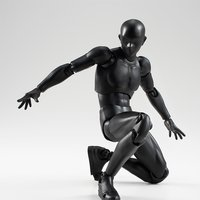 S.H.Figuarts Body-kun (Solid Black Color Ver.)