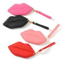 Lip-Shaped Pass Case