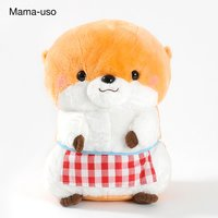 Kawauso no Kotsume-chan Home Party Otter Plush Collection (Big)