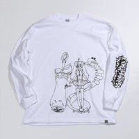 PARK Urahara Mari Line Drawing Long Sleeve T-Shirt