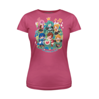 Vocaloid Sing a Song Pink Women's T-Shirt