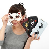 FLAPPER Cat Mask Girl Long Wallet