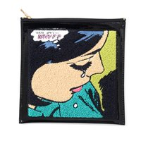 Accommode Vintage Comic-Style Coin Pouch