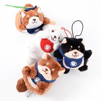 Chuken Mochi Shiba Various Poses Plush Collection (Mini Strap)