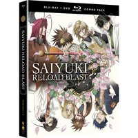 Saiyuki Reload Blast BD Combo Pack