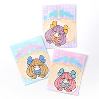 Holly Girls Holographic Stickers