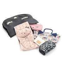 Osumashi Pooh-chan 6-Piece Winter 2017 Lucky Bag