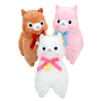 Alpacasso Pompom Velvet Ribbon Alpaca Plush Collection (Big)