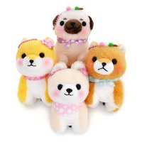 Mameshiba San Kyodai Haru Ranman Dog Plush Collection (Ball Chain)