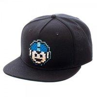 Mega Man 8-Bit Black Snapback