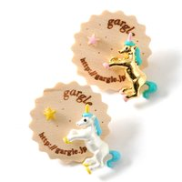 gargle Unicorn Earrings